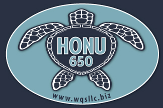 HONU 650 sticker